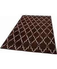 Teppich Parwis Piper Flachgewebe PARWIS braun 1 (B/L: 60x90 cm),3 (B/L: 100x150 cm),4 (B/L: 160x230 cm),6 (B/L: 200x290 cm)