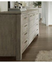 PREMIUM COLLECTION BY HOME AFFAIRE Premium Collection by Sideboard Lucca Breite 204 cm natur