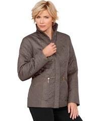 CLASSIC Damen Classic Jacke in außergewöhnlicher Paisley-Prägung braun 38,40,42,44,46,48,50,52,54