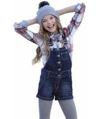 Arizona Jeanslatzhose mit Eingrifftaschen für Mädchen blau 128,134,140,146,152,158,164,170,176,182