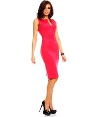 Mayaadi Deluxe Růžové pouzdrové šaty