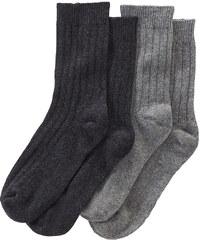 Gina Benotti 2 páry dámských ponožek