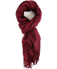 ACNE STUDIOS Bordeauxroter Canada-Schal aus Wolle