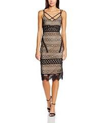 Boohoo Damen Kleid Boutique Fi Lace & Crochet Cross Strap