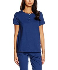 Women'secret Damen T-Shirt C2 Panadera Blue Int