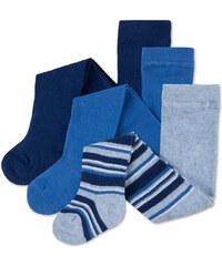 C&A Baby-Strumpfhosen in Blau / Blau