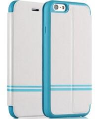 Pouzdro typu kniha Devia Keen pro Apple iPhone 6, bílé 102010215023
