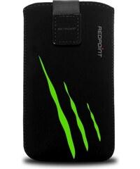 FIXED Univerzální pouzdro Redpoint Velvet Scratch - Zelené, Velikost XXL RPVEL-048-XXL