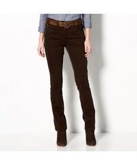 Blancheporte Tvarující kalhoty s 5 kapsami čokoládová 36