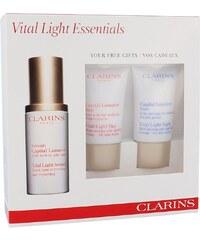 Clarins Vital Light Essentials Kit dárková sada W - 30ml Vital Light Serum + 15ml Vital Light Day Cream + 15ml Vital Light Night Cream Všechny typy pleti