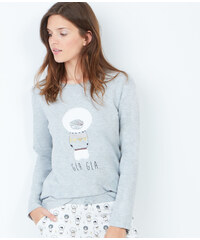 Top imprimé sweat bear Etam