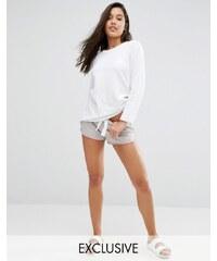 Nocozo - Short en jersey - Gris