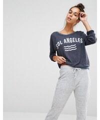 Sol Angeles - Sweat avec logo - Bleu marine