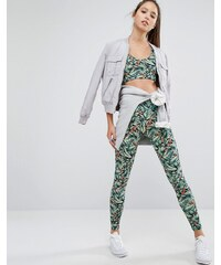 213 Apparel - Leggings de yoga imprimé jungle - Multi