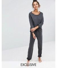Lazy Days - Leggings de pyjama - Gris
