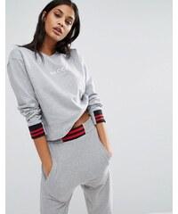 Nicce London - Sweatshirt mit Logo - Grau