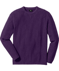 bpc bonprix collection Pull Regular Fit violet manches longues homme - bonprix