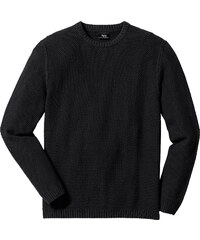bpc bonprix collection Pull Regular Fit noir manches longues homme - bonprix