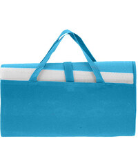 Lesara Strandmatte gestreift - Blau