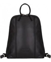 BODENSCHATZ Dámský kožený batoh M-222 RN černý