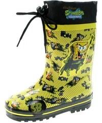 Beppi Dětské zateplené holínky SpongeBob - žluté