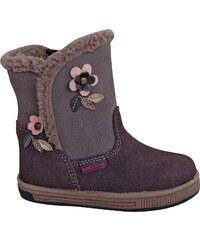 Protetika Dívčí zimní boty Simona - šedé