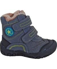 Protetika Chlapecké zimní boty s hvězdičkou Derex - šedé