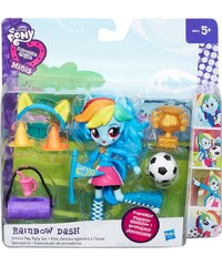 Hasbro My Little Pony Equestria girls Malá panenka s doplňky - Rainbown dash
