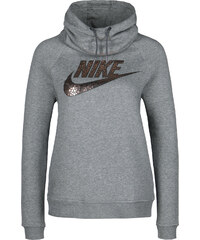 Nike Rally Funnel Neck W Hoodie carbon/bronze
