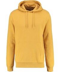 Topman CLASSIC FIT Sweat à capuche yellow