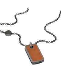 Diesel Collier cuir exclusivité web Homme DX0909060