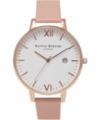 PROMO - Olivia Burton Montre Timeless Dusty Pink & Rose Gold Femme OB15TL02