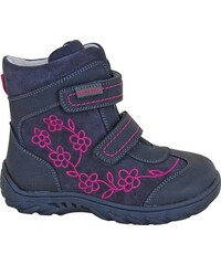 Protetika Dívčí zimní boty Miri - modro-šedé