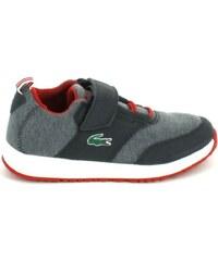 Lacoste Chaussures enfant Light 316 1 C Gris Rouge