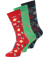 Happy Socks HOLIDAY 3 PACK Chaussettes green