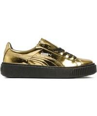 Puma Basket Platform Metallic Gold