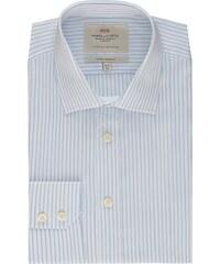 Pánská košile Hawes & Curtis Bílé & Modré pruhy