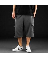 Just Rhyse Basic Cargo Sweat Shorts Pewter