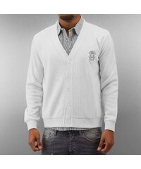 MCL Two Horses Cardigan White