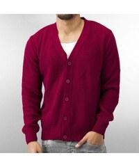 MCL Basic Knit Cardigan Bordeaux