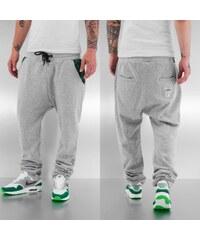 Dangerous DNGRS Weed Sweat Pants Grey Melange
