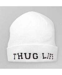 Thug Life Beanie White