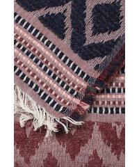 Esprit Grande écharpe douce à motif ikat