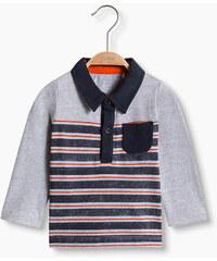Esprit Polo manches longues à rayures, coton