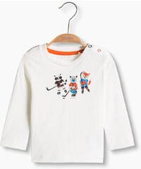 Esprit T-shirt imprimé sportif en coton