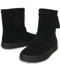 Crocs Lodgepoint Suede Pullon Boot Black