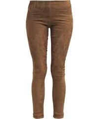 Ventcouvert Pantalon en cuir taupe
