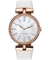 Esprit Uhr Damen Leder weiß roségold ES109112002