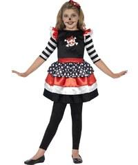 Smiffys Barevný kostým s lebkou - 3 - 4 roky