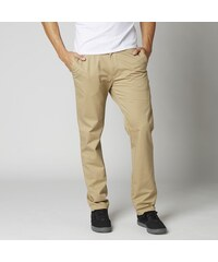 THROTTLE FOX CHINO PANT DARK KHAKI
